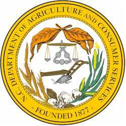 The North Carolina Department of Agriculture and Consumer Services logo