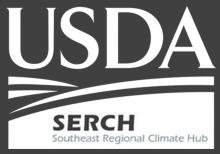 The USDA Southeast Regional Climate Hub logo