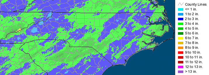 2014 North Carolina Climate