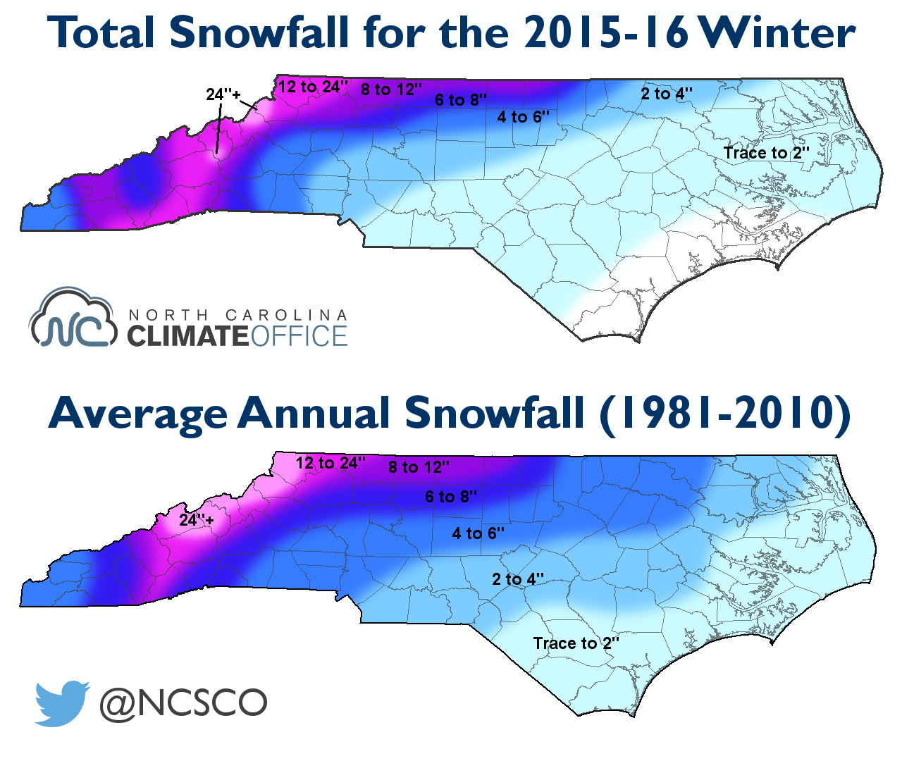Winter Recap El Niño Fuels Wet Weather Little Snow - Average annual snowfall map us