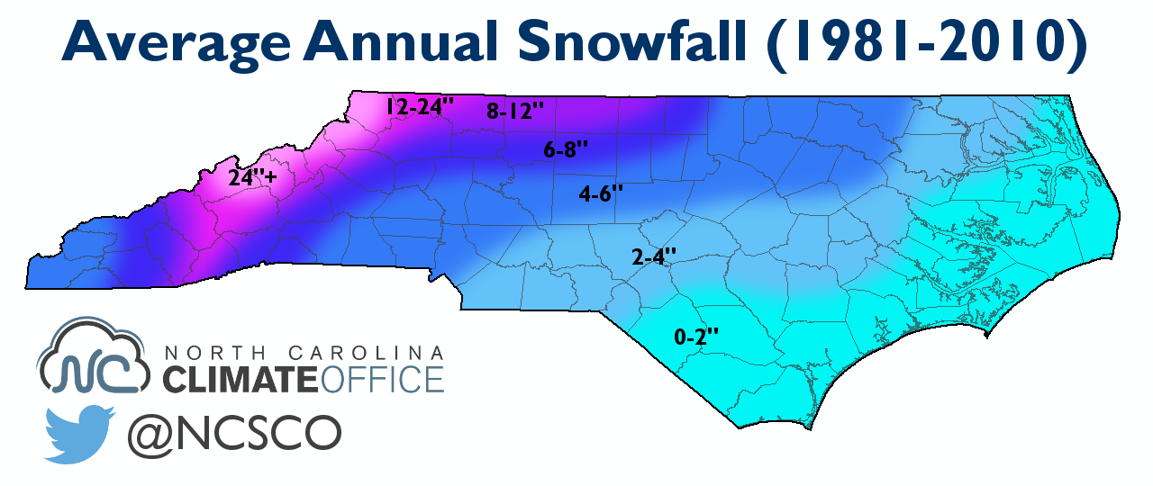Analog Winters Help Show The Possibilities For This Year State - Average snowfall map us
