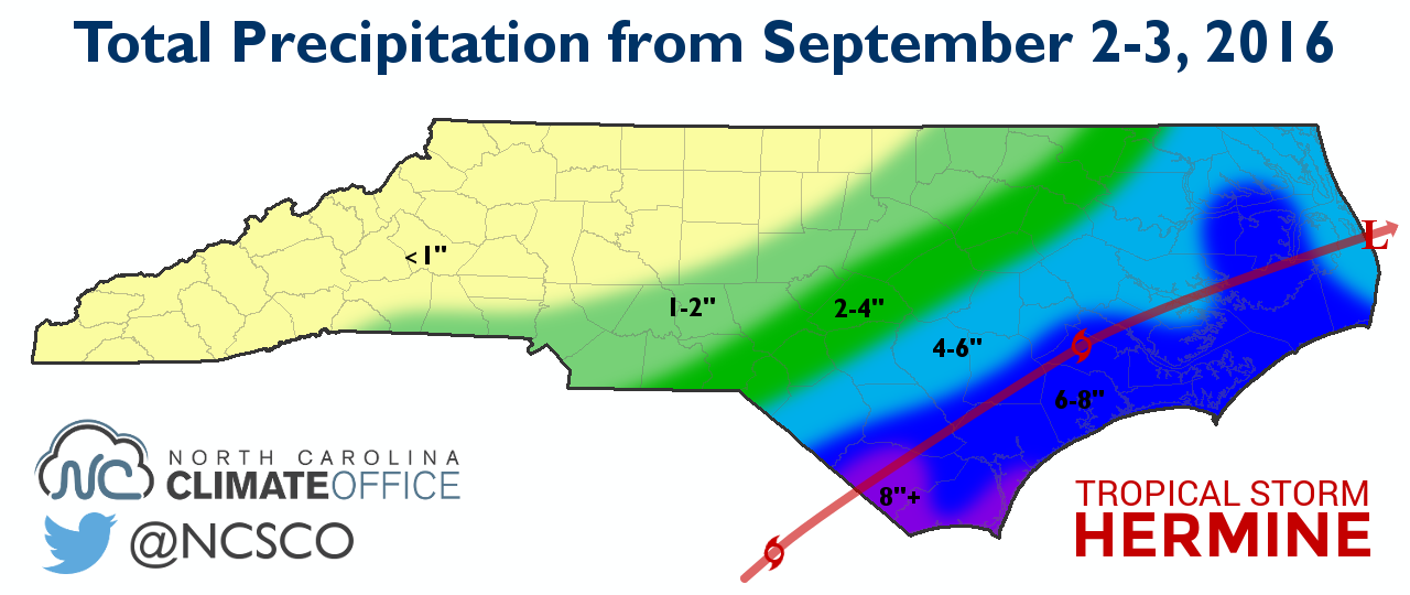 Later From September 18 Through 23 The Remnants Of Tropical Storm Julia Brought More Rain To Eastern North Carolina