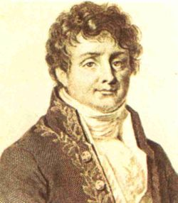 portrait of Joseph Fourier