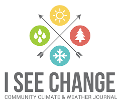 A collaborative community science project based on local sightings of weather and climate