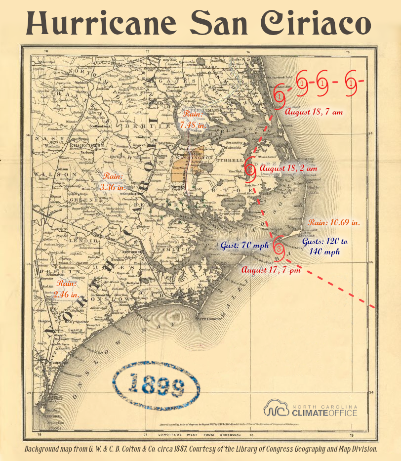 1800s Storms