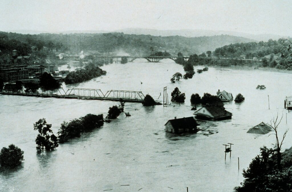 French Broad River in July 1916