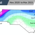 Winter 2020-2021 Snow Accmulation